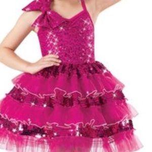 Weissman Sequin Pink Costume Dress